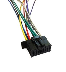 PIONEER MVH-X390BT Player Wiring Harness Plug