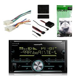 Pioneer Vehicle Digital Media 2DIN Receiver with Bluetooth E