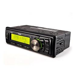 Pyle Marine Stereo Headunit Receiver - 12v Single DIN Style