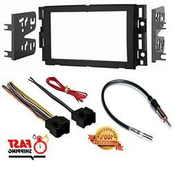 Double DIN Dash Kit for Select 2006-2014 GM / CHEVROLET Vehi