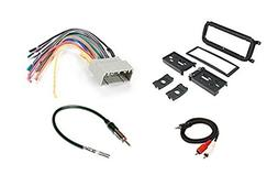 Radio Stereo Install Dash Kit + wire harness + antenna adapt