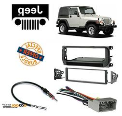 Radio Stereo Install Dash Kit + Wire Harness and Antenna Ada