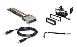 Radio Stereo Install Single Din Dash Kit + wire harness + an