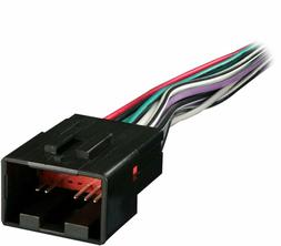 radio wiring harness for ford lincoln mazda