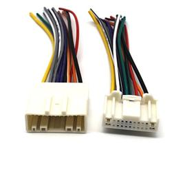 MOTONG Radio Wiring Harness for Nissan 2007 Up