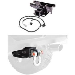 Rugged Ridge Receiver Kit With Wiring Harness & Shackle Brac