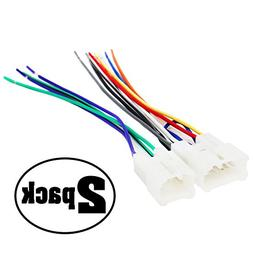 2-Pack Replacement Radio Wiring Harness for 1999 Toyota Celi