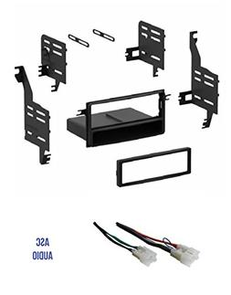 ASC Single Din Car Stereo Install Dash Kit and Wire Harness