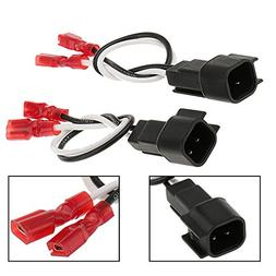 Paddsun 2PCS Speaker Wire Harness Adapter for Ford Linclon M