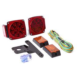CZC AUTO 12V LED Submersible Trailer Tail Light Kit for Unde