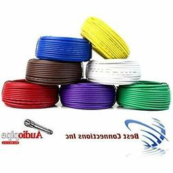 Trailer Light Cable Wiring Harness 50ft spools 14 Gauge 7 Wi
