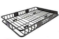 """EGO BIKE 64"""" Universal Black Roof Rack Cargo with Extension"""