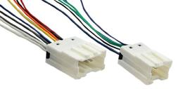 Absolute USA H702/7550 Radio Wiring Harness for Nisssan 1995