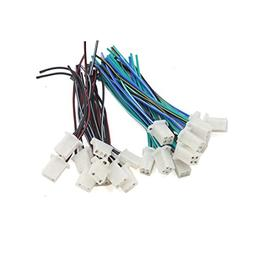 uxcell 20Pcs Wiring Harness Male Female Motorcycle Igniter I