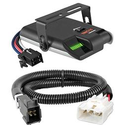 CURT Venturer Electric Brake Controller & Wiring Kit for Toy