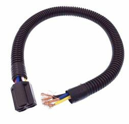 """Wiring Harness Lead 18"""" L, 5 color coded wires, wires protec"""